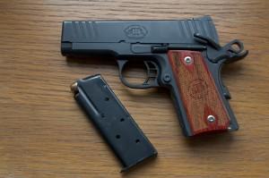 Pistole pro skryté nošení