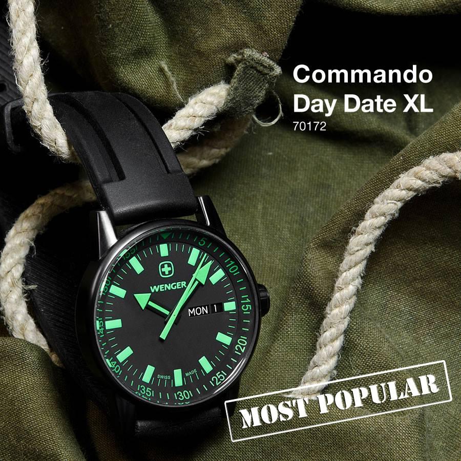 cfcac6c64 Military hodinky Wenger Commando mají co nabídnout